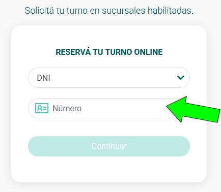 formulario para como sacar turno bancor, pedir turno online banco provincia de córdoba