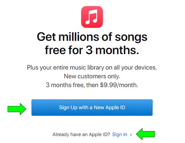 acceder a los meses de prueba de apple music en argentina