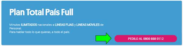 solicitar una linea fija al 0800 de telecom argentina