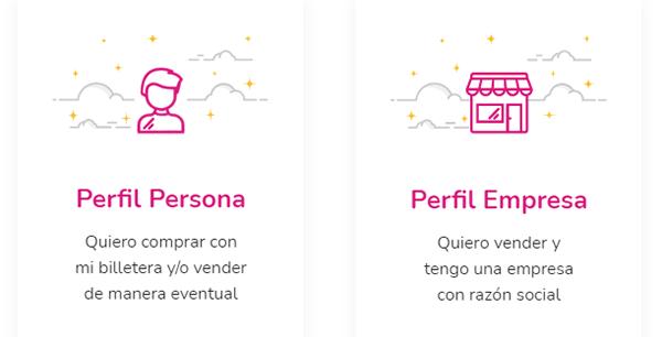seleccioná el perfil para usar la app de todo pago en argentina