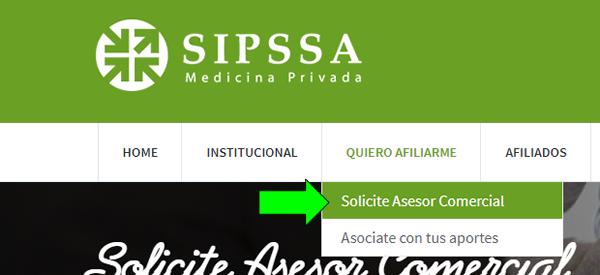 como afiliarse online a sipssa medicina prepaga cordoba, carlos paz, alta gracia, jesús mari y cobertura