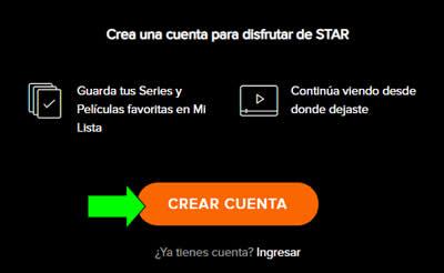 crear cuenta star play premium argentina