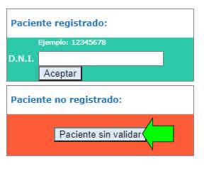 sacar turno online sanatorio argentino la plata paciente no registrado