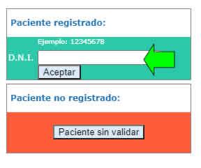 sacar turno online sanatorio argentino la plata paciente registrado