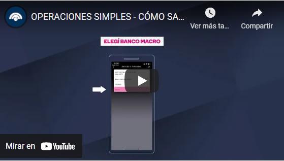 video tutorial para sacar turno banco macro