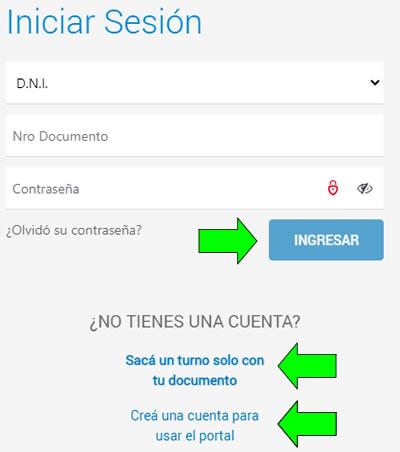 Cómo sacar turno en el Sanatorio Allende en el portal web