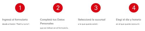 pasos para pedir turno banco hsbc argentina