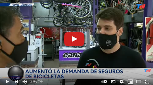 video seguros de bicicletas en argentina