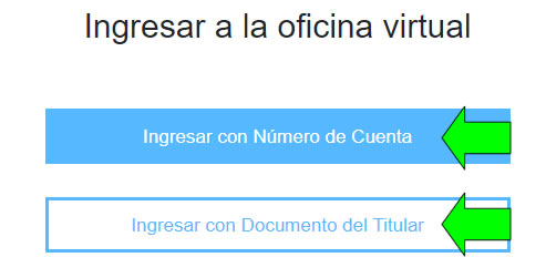 como ingresar a la oficina virtual de edea argentina