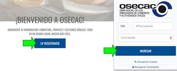 turnero web para sacar turnos online osecac comercio