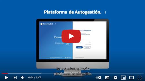tutorial online para sacar turnos autogestion banco ciudad